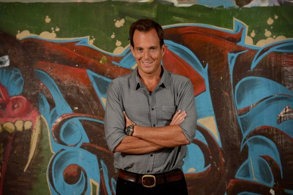 American actor Will Arnett poses for photographs during a photo call to promote the film Teenage Mutant Ninja Turtles, in Sydney