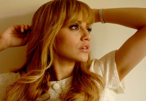 American actor Brittany Murphy poses for photographs in Sydney