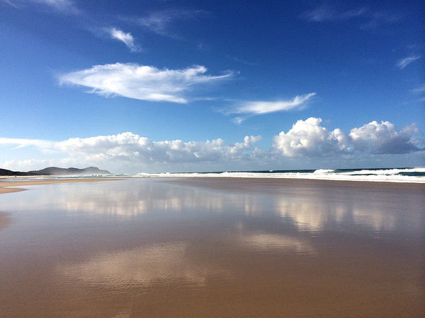 Tallow Beach at Byron Bay in northern NSW