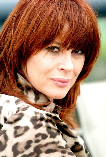 Australian rock singer Chrissy Amphlett poses for photographs in Sydney