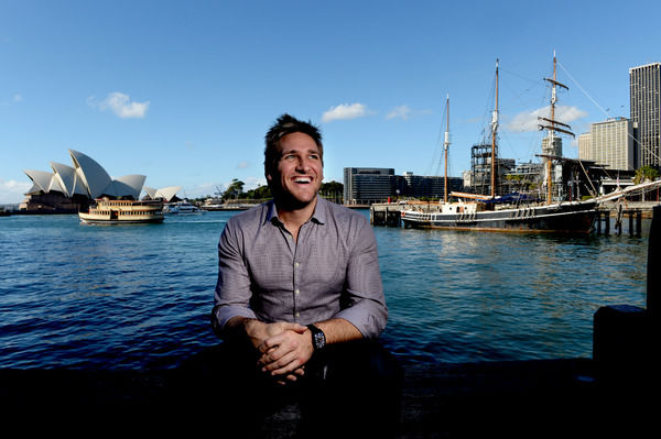 Australian chef Curtis Stone poses for photographs in Sydney