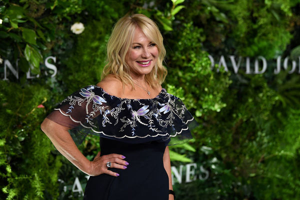**FILE** Kerri-Anne Kennerley arrives at the David Jones Spring Summer 2018 Collections Launch, in Sydney, Wednesday, August 8, 2018. (AAP Image/Joel Carrett)