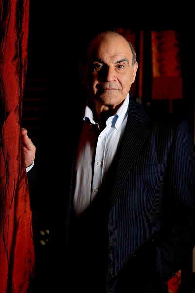 British actor David Suchet poses for a photograph in Sydney