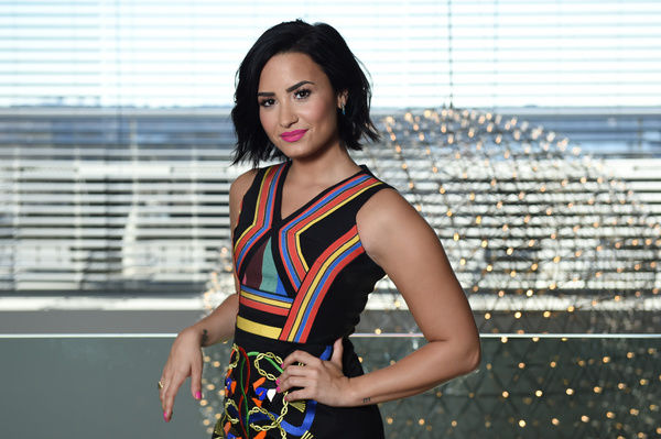 American singer and actress Demi Lovato poses for a photograph in Sydney