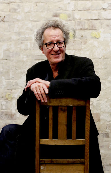 Geoffrey Rush pictured at the Belvoir St Theatre event in Sydney