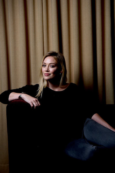 American singer/actor Hilary Duff poses for photographs in Sydney