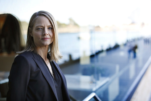 American actor and director Jodie Foster poses for a photograph in Sydney