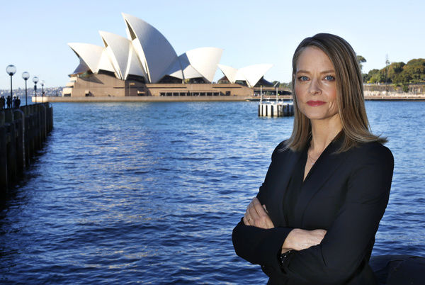 American actress and director Jodie Foster poses for a photograph in Sydney
