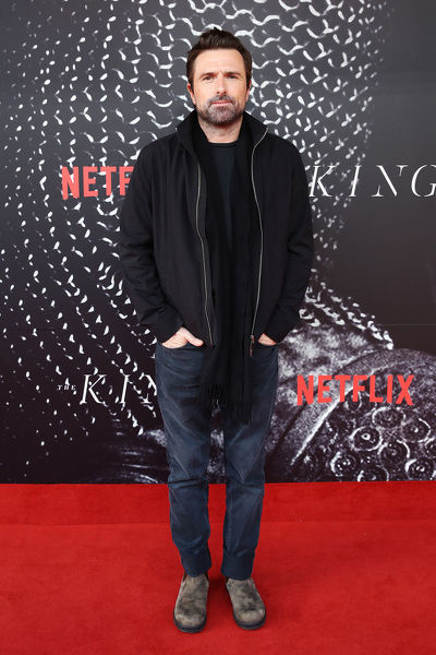 Director David Michod arrives at the Australian premiere of The King at The Ritz Cinema, Randwick, Sydney, Thursday, October 10, 2019. (AAP Image/Brendon Thorne) NO ARCHIVING