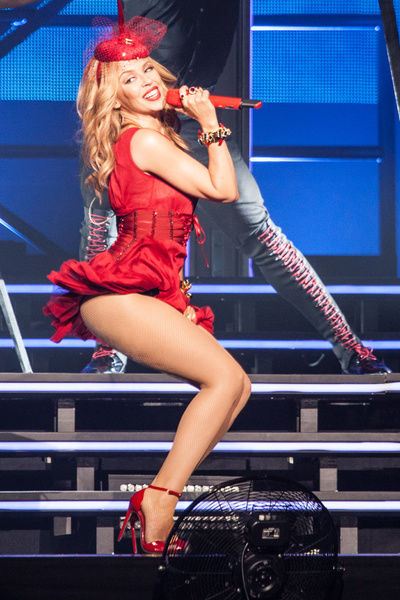 Kylie Minogue performs her Kiss Me Once tour at Rod Laver Arena, Melbourne