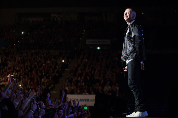Macklemore & Ryan Lewis perform in Melbourne at Rod Laver Arena as part of their This Unruly Mess I've Made World Tour