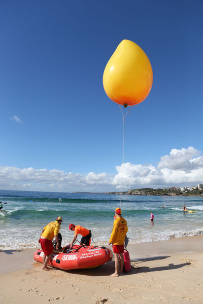 The annual mango Mess-tival at Bondi Beach in Sydney