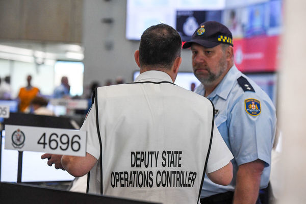 NSW RFS CONTROL CENTRE