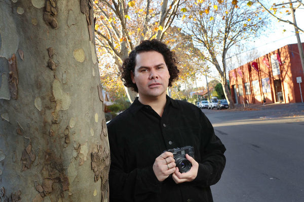ALL INFORMATION CONTAINED HERE IS STRICTLY EMBARGOED UNTIL 0001 AEST ON MONDAY, JUNE 11  Australian artist Christian Thompson poses for a photograph in Melbourne, Saturday, June 9, 2018. Thompson has been honoured as an Officer of the Order of Australia