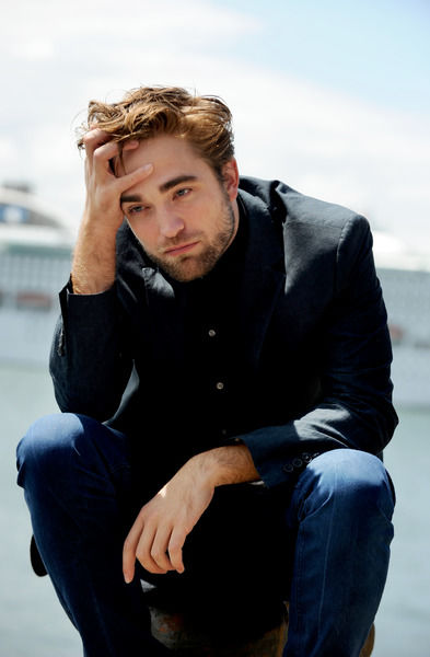 British actor Robert Pattinson poses for photographs in Sydney