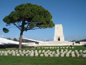 Lone Pine Memorial, Gallipoli