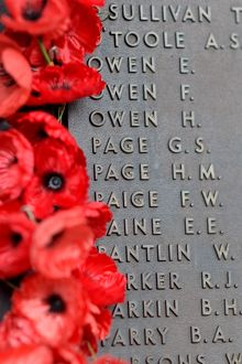 Roll of Honour Names