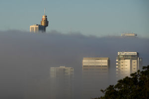 SYDNEY WEATHER FOG