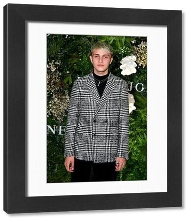 American model Anwar Hadid arrives at the David Jones Spring Summer 2018 Collections Launch, in Sydney, Wednesday, August 8, 2018. (AAP Image/Joel Carrett)