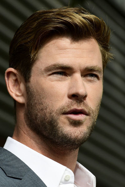 CHRIS HEMSWORTH MARVEL PRESS CONFERENCE