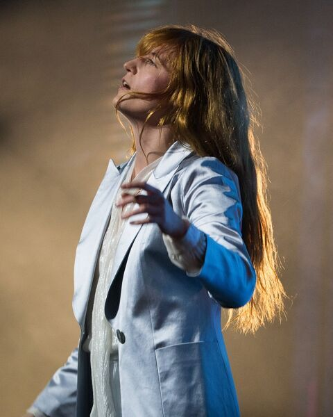 Florence And The Machine perform at The Palais Theatre in Melbourne, Wednesday, July 22, 2015