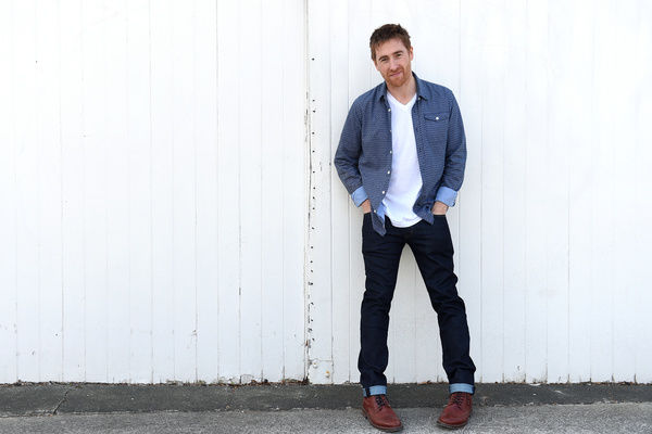 English singer-songwriter Jamie Lawson poses for a photograph in Sydney
