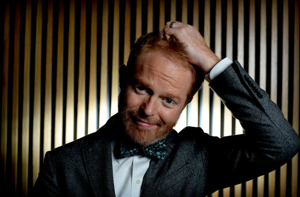 Jesse Tyler Ferguson, star of US television show Modern Family, poses for a photograph in Sydney