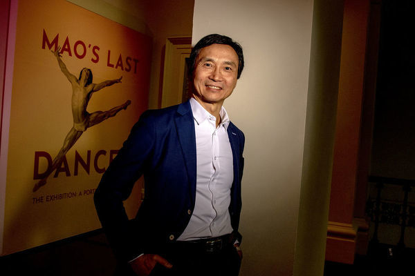 Li Cunxin (?Mao?s Last Dancer?) poses for a photo at the the Immigration Museum in Melbourne, Australia, Thursday, July 5, 2018. The museum is currently hosting an exhibition about Li Cunxin?s life and career, titled 'Mao's Last Dancer the exhibition