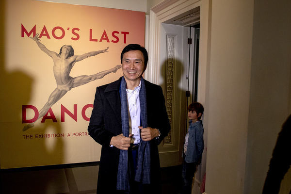 Li Cunxin (?Mao?s Last Dancer?) is seen during a media call at the the Immigration Museum in Melbourne, Australia, Thursday, July 5, 2018. The museum is currently hosting an exhibition about Li Cunxin?s life and career, titled 'Mao's Last Dancer the exhibition