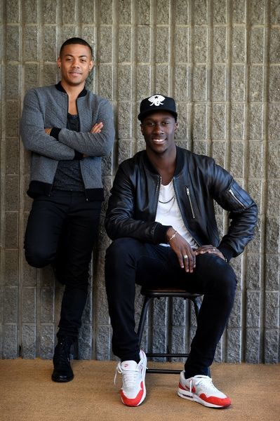 Norwegian singer songwriter duo Nico and Vinz pose for photographs in Sydney