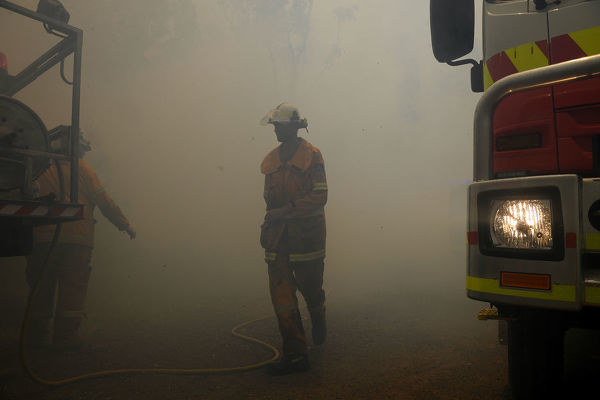 Nsw Bushfires Salt Ash