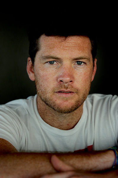 Australian actor Sam Worthington poses for photographs in Sydney