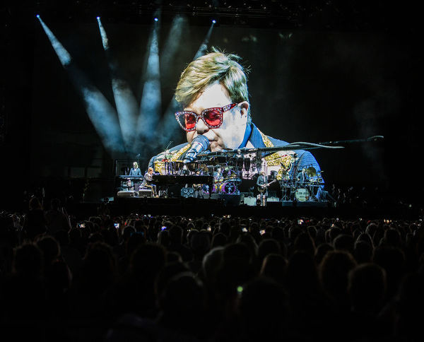 Sir Elton John, Farewell Yellow Brick Road Tour Perth