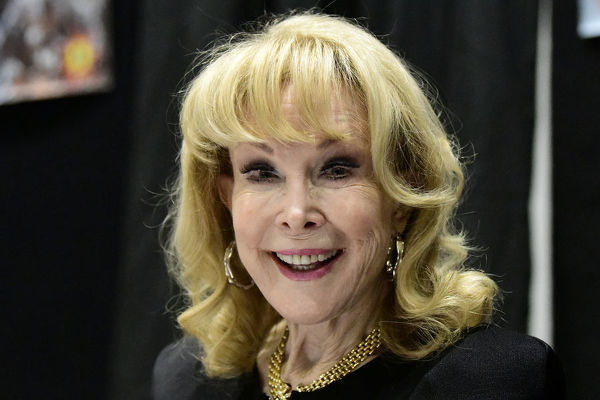 American actress Barbara Eden poses for a photograph at the Supanova 2019 expo in Sydney, Saturday, June 22, 2019. Supanova celebrates film, television, fantasy, comic books, anime, science fiction, cartoons, books and gaming
