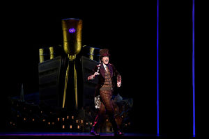 CHARLIE AND THE CHOCOLATE FACTORY MEDIA CALL
