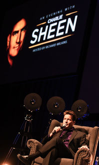 <b>Charlie Sheen Australia Tour Melbourne Show</b><br>Selection of 21 items