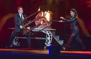 THE ILLUSIONISTS MEDIA CALL MELBOURNE