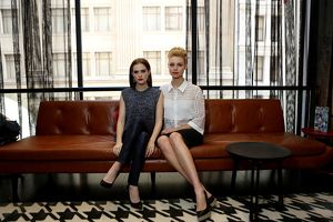 Lucy Fry and Zoe Deutch