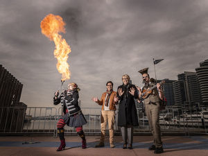 MELBOURNE FIRELIGHT FESTIVAL LAUNCH