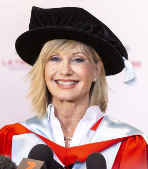 <b>Olivia Newton John Honorary Doctorate</b><br>Selection of 50 items