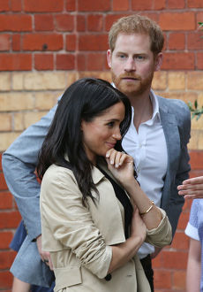 ROYAL TOUR AUSTRALIA MELBOURNE