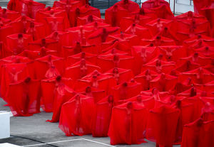 SPENCER TUNICK NUDE INSTALLATION MELBOURNE