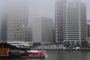 WEATHER BRISBANE FOG